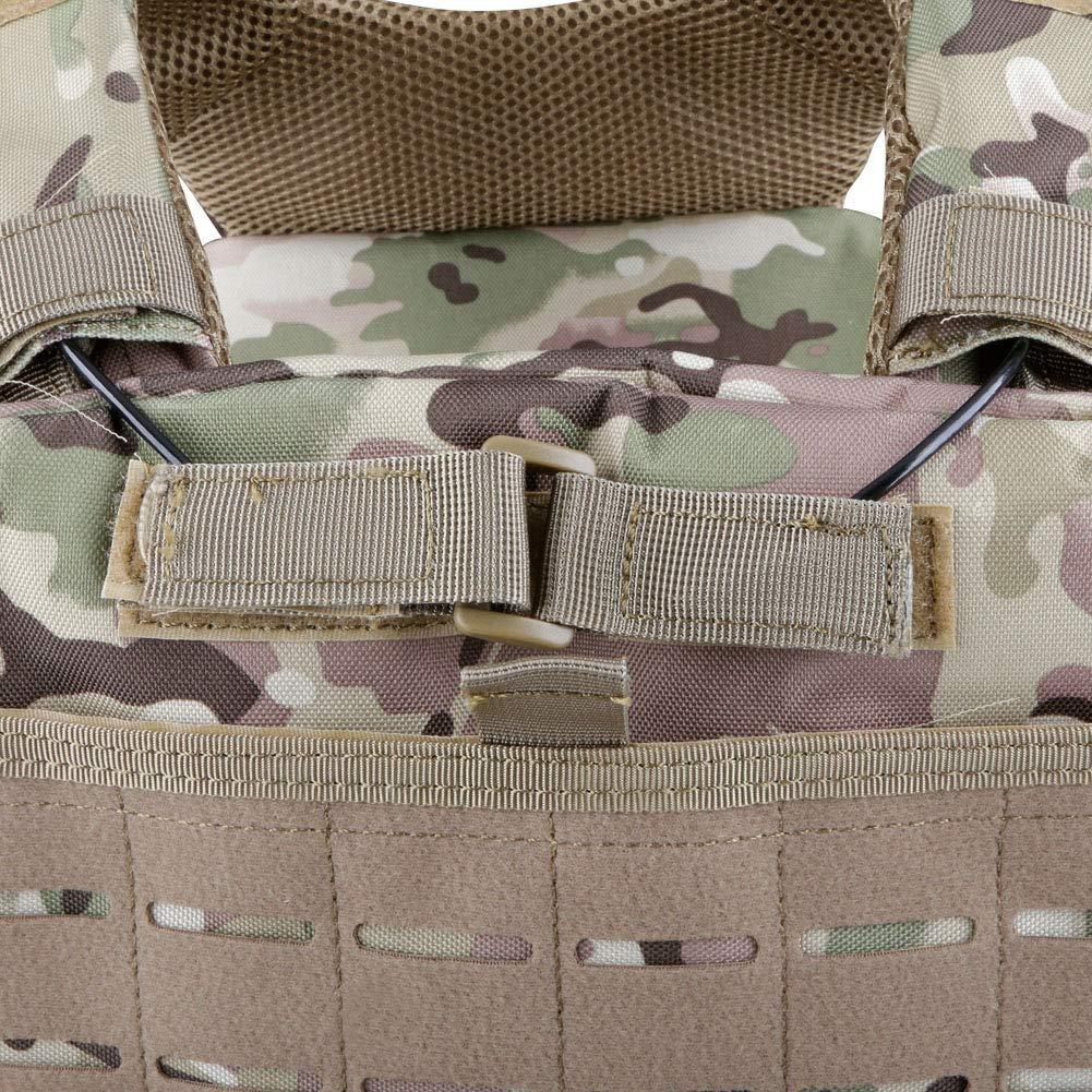 Kayheng CS Army Vest Multifunktionale Taktische Airsoft Weste Atmungsaktiv und schnell ausl/ösende Weste