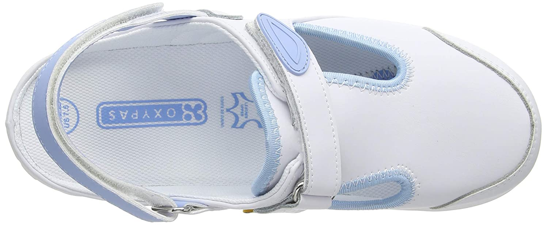 White Oxypas Move Carin Slip-resistant Antistatic Nursing Shoes Fux 8 UK EU: 42