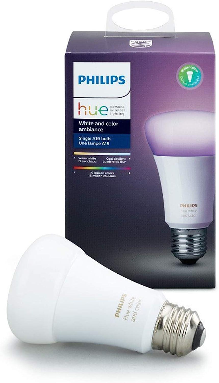 Philips Hue Warm White E27 Single Bulb