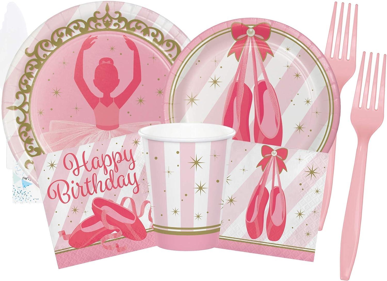 5 Pack Ballet Party Ballet Girl/'s Party Ballerina Party Guest Tablecloths Ballerina Table Decor Ballerina Birthday Ballet Birthday