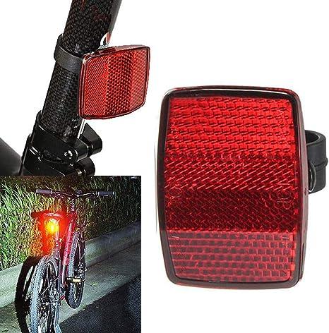 Nuevas Luces de la Bici Montaje del Manillar Seguro Reflector ...