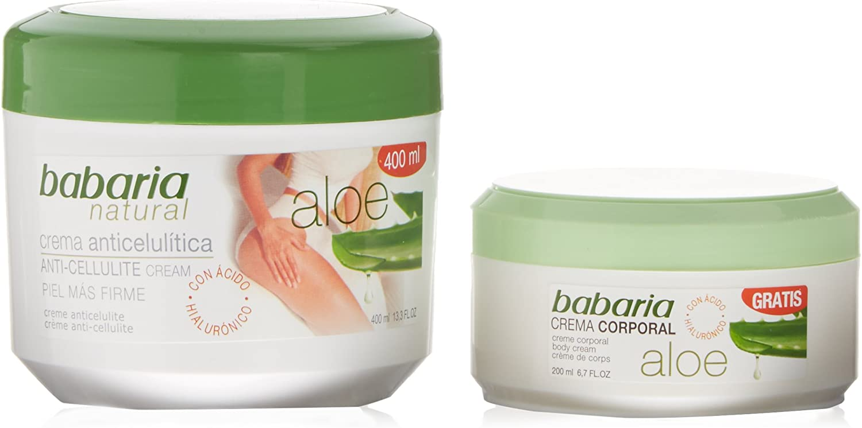Babaria Crema Anticelulítica + Crema Corporal Aloe Vera - 1 Pack ...