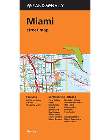 Folded Map: Miami Street Map (Rand Mcnally Street Map)