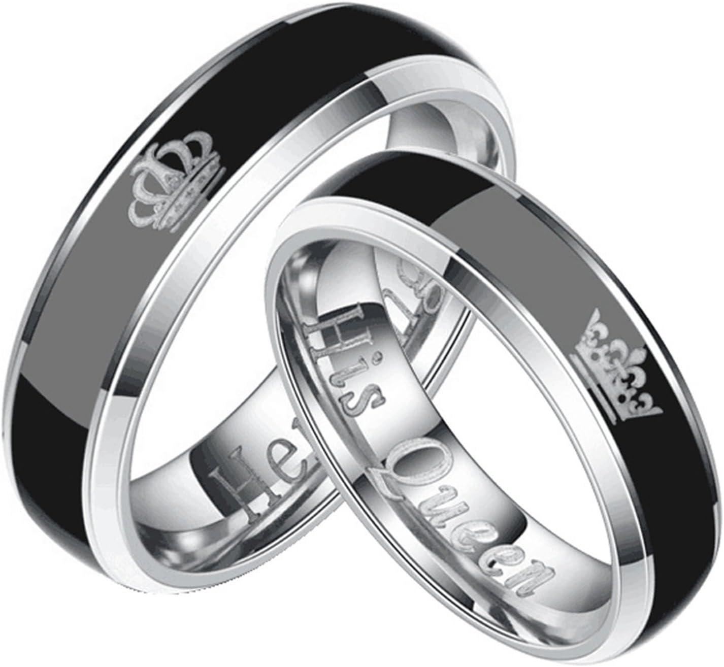 Anillo de acero inoxidable negro brillo jabones con circonita anillo de acero inoxidable me 222