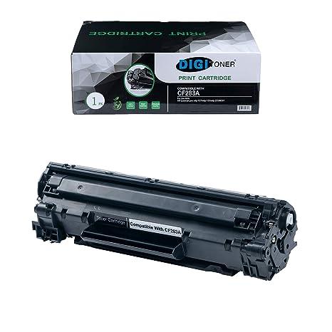 1PK CF283A Black Laser Toner cartridge For HP LaserJet Pro MFP M125nw New 83A