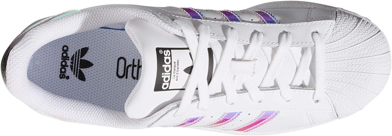 adidas Superstar 80s W Weiß und Pink. Schuhe Damen Sneakers