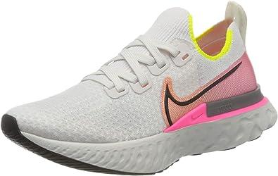 formato queso Excursión  NIKE React Infinity Run Flyknit, Zapatillas de Running Mujer: Amazon.es:  Zapatos y complementos
