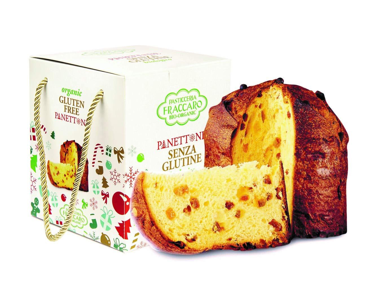 Panettone BIO sin Gluten FRACCARO SPUMADORO con masa suave ...
