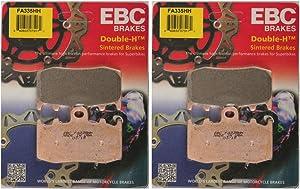 EBC Double-H Sintered Metal Brake Pads FA335HH (2 Packs - Enough for 2 Rotors)