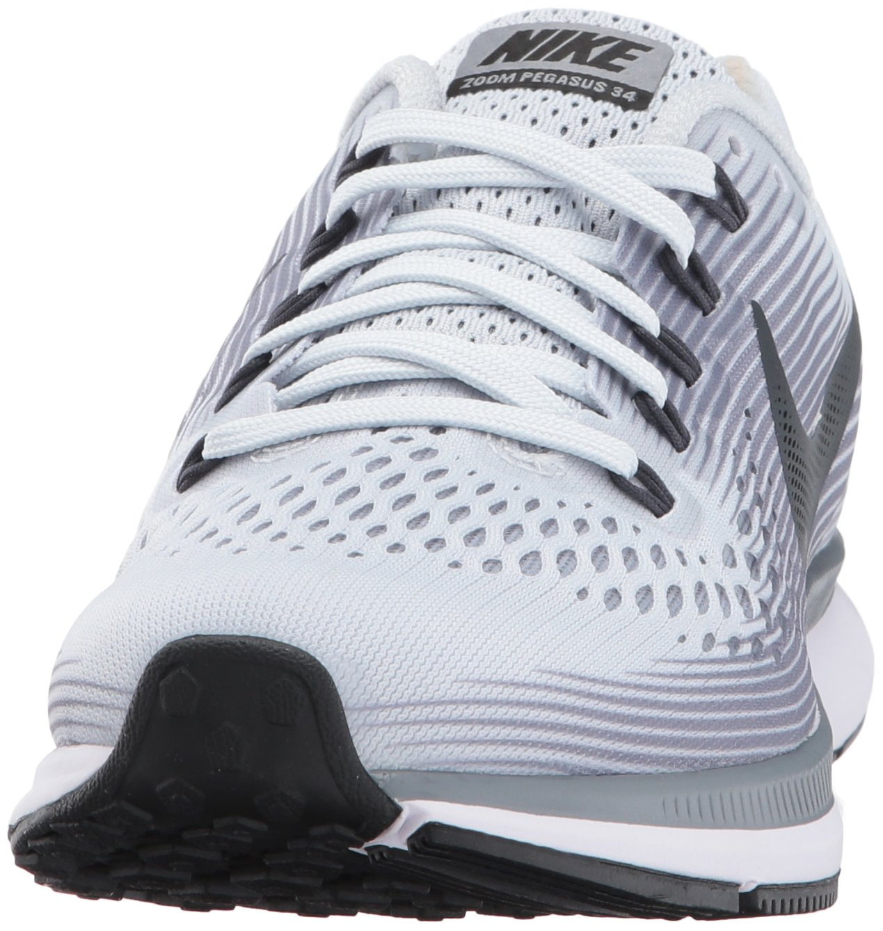 Nike Women's Air Zoom Pegasus 34 Running Shoes-Pure Plantinum/Antracite-6 by Nike (Image #4)