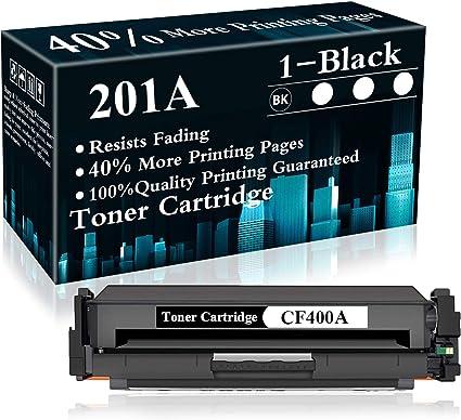 1pk Yellow toner CF402A for HP Laserjet MFP M277n Pro M252dw M252 201A Printer