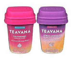 Teavana tea bundle 2 flavor; (1) Citrus Lavender, (1) Youthberry