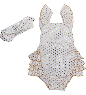 d7b86023e088 Messy Code Baby Girl Sunsuit Romper Infant Bodysuit Clothes Boutique Outfits  with Headbands