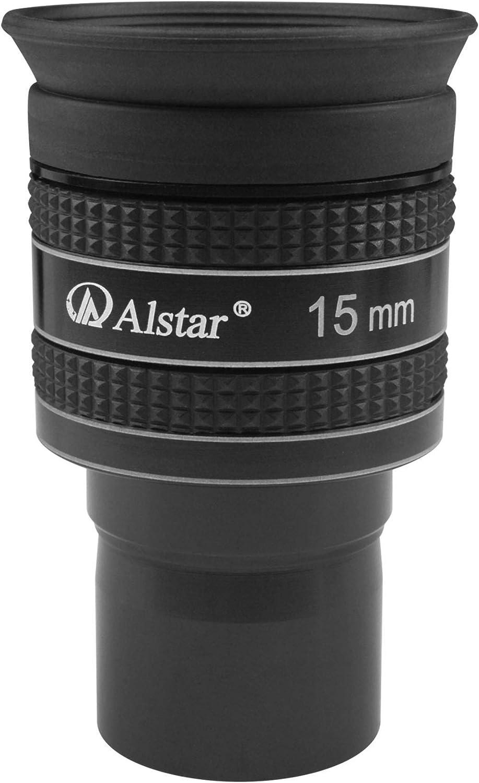 Alstar 1.25 15mm 58-Degree Planetary Eyepiece for Telescope