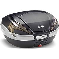 Givi V56NNT V56 Maxia 4 Tech Monokey Topcase en reflecteur Transparent d'optique de Carbone