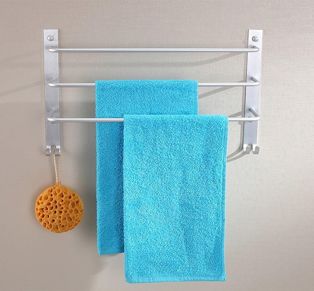 DACHUI Bath rooms linearly in the aluminum towel rail hanging rack 3-animal bath bath rooms rooms towel rail towel rail by DACHUI (Image #1)