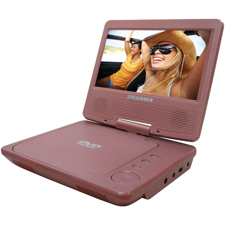 Amazon.com: Sylvania SDVD7040B-Black 7-Inch Portable DVD Player, Black:  Electronics