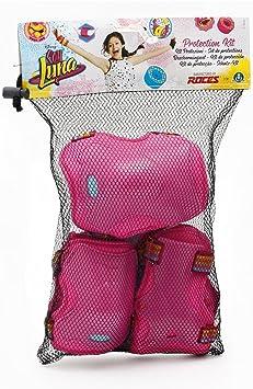 Soy Luna Disney Skate de Equipo de protección, L: Amazon.es: Juguetes y juegos