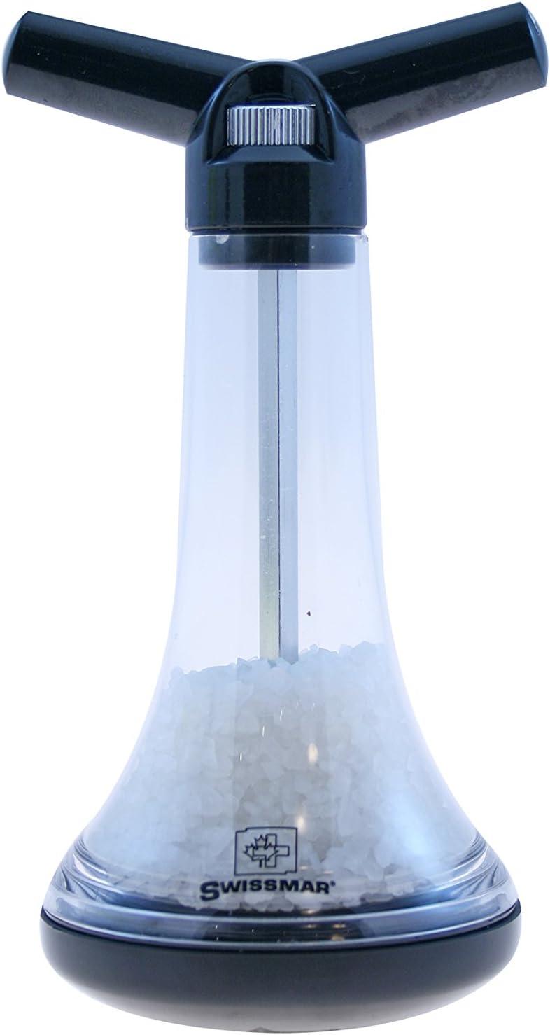 Black Swissmar SM305109 Culbuto Rock and Roll Salt Mill 6-Inch