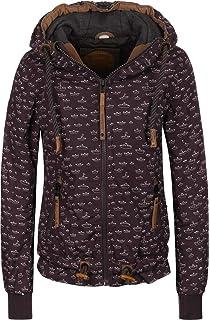 100 % Polyester naketano Jacket 'Gleitgelzeit' in navy