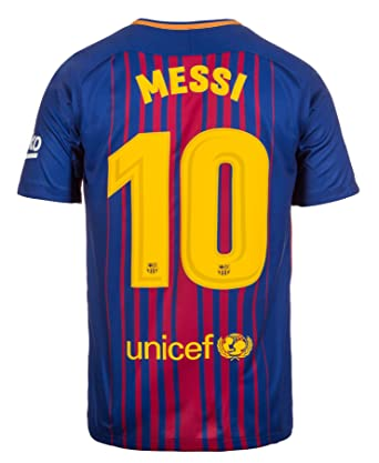 premium selection 758ef cd95c Nike Youth Barcelona Home 2017/18 #10 Messi Jersey, Youth X-Large