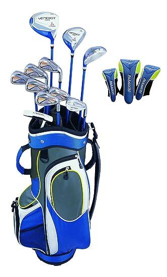 Amazon.com: Veredicto Tour 14 pieza Juego de palos de golf ...