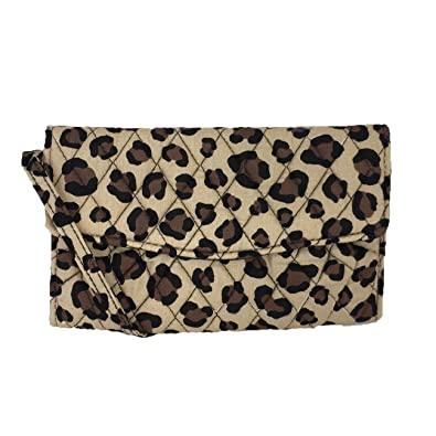 2a559a42b Image Unavailable. Image not available for. Color: Vera Bradley Strap  Wallet Crossbody ...