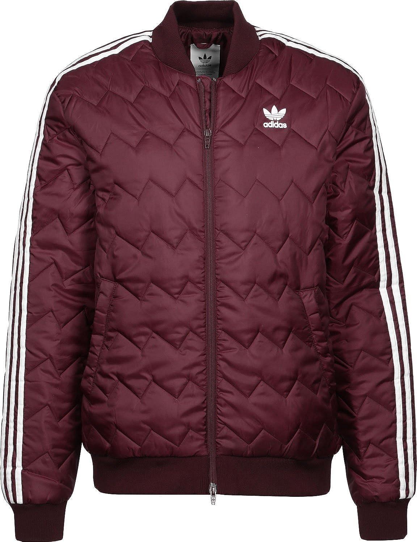Adidas Superstar Quilted Jacke Herren Oliv, XS 42: Amazon