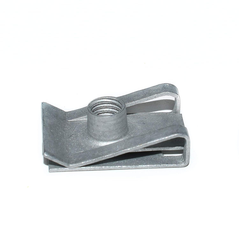 10 x M5 Salt Spray Coated Steel Chimney Nuts/Spire Clips Falcon Workshop Supplies Ltd