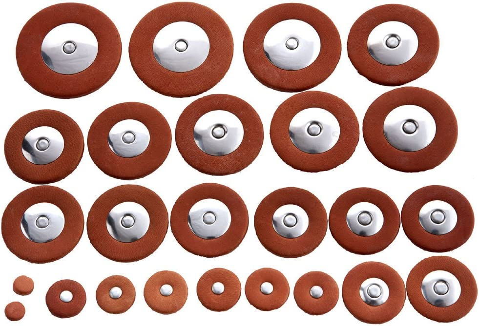 TENOR SAXOPHONE PADS Complete Set of  25 Pads