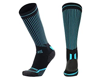 73839299d6 Compression Socks Graduated Running Athletic Extreme Padded Cushion&Comfy  For Men And Women With Patent Heel Antiabrasion
