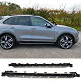 Running Board Fits 2011-2016 Porsche Cayenne | OE Factory Style Side Step Nerf Bar