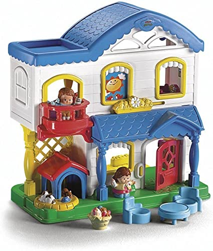 Amazon Com Fisher Price Little People Busy Day Home Toys Games