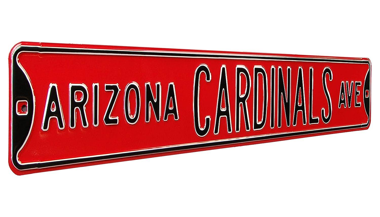 【高い素材】 NFL Arizona CardinalsスチールAvenue NFL Signs、36