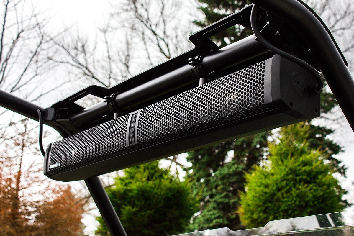HIFONICS TPS10 Thor 10-Speaker Bluetooth Powersports Amplified Soundbar by Hifonics
