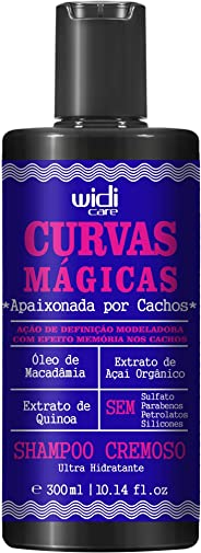 Curvas Mágicas Shampoo Cremoso - Widi Care, Widi Care, Roxo, Grande