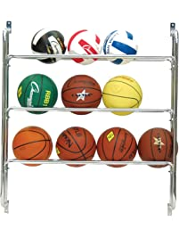 Champion Sports Wall Storage Ball Rack