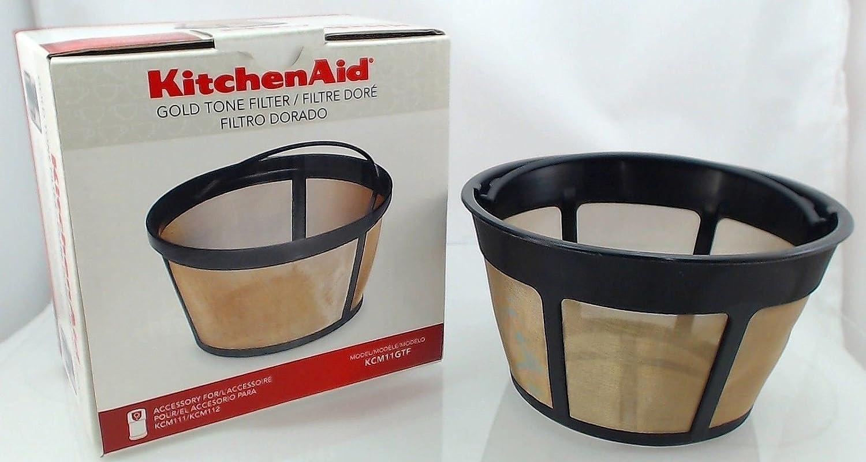 Nueva KitchenAid cafetera eléctrica Oro Tone filtro, modelos ...
