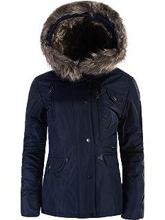 P072 Damen Winter Mantel Jacke Steppjacke Parka Jacket