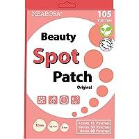 MEAROSA Acne Pimple Patch 105 dots - VEGEN, Absorbing cover, Hydrocolloid Blemish Spot Patch Beauty Spot Patch Three…