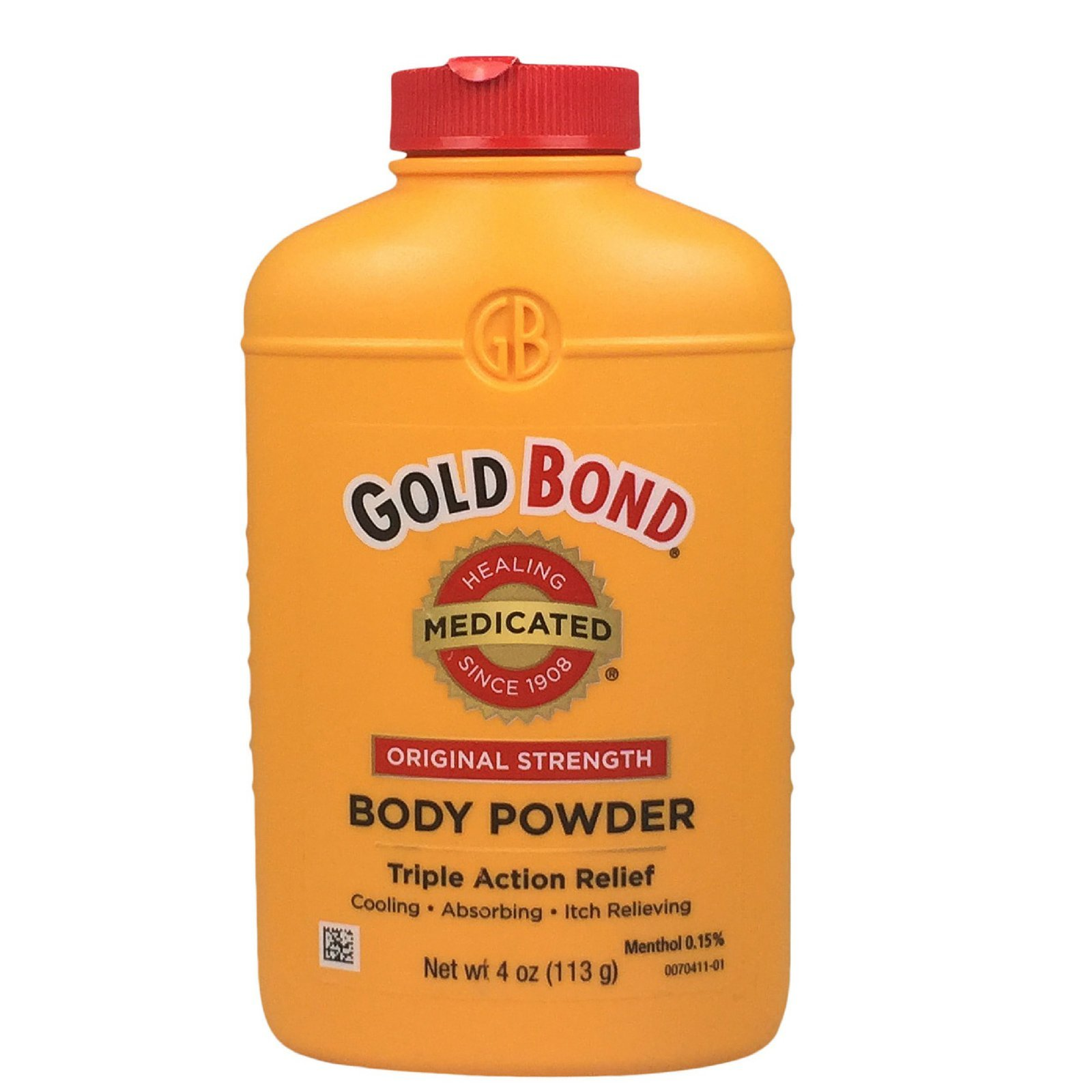 Gold Bond Medicated Body Powder, 4 oz (113 g) (Pack of 4)
