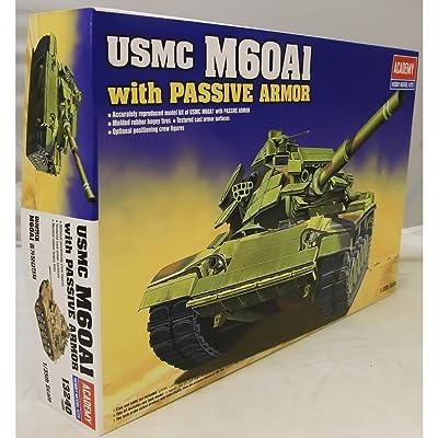 1/35 M60A1 Patton Blazer Tank ACY1349 by Academy Models: Toys & Games [5Bkhe0701008]