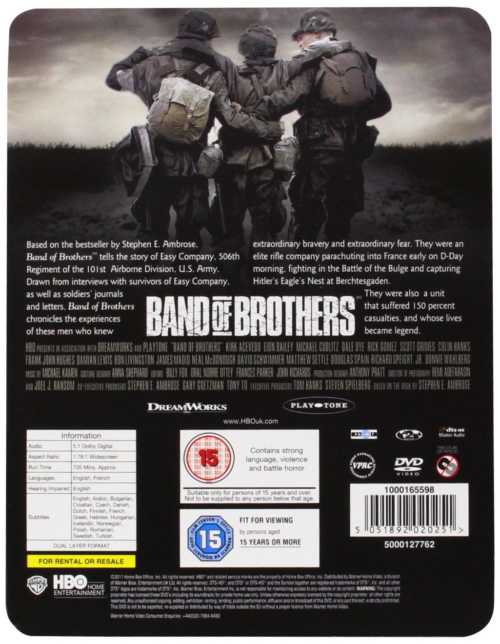 Band Of Brothers 6 Dvd Edizione: Regno Unito Reino Unido ...