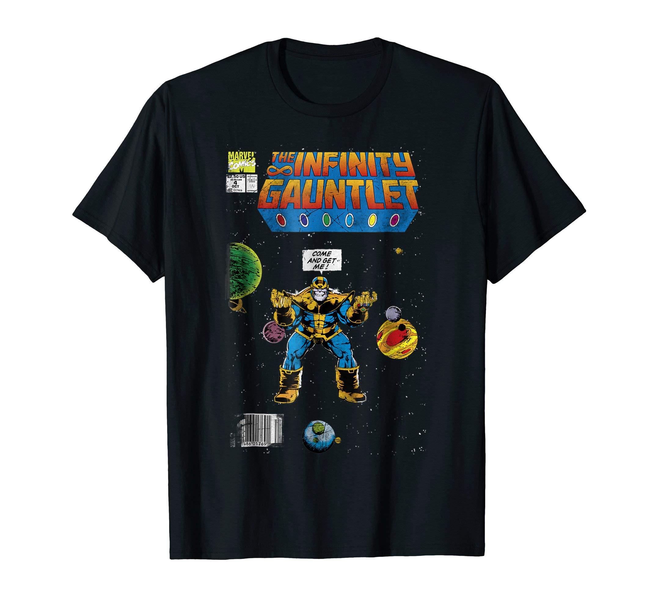 Infinity Gauntlet Comic Book Graphic T Shirt 1116