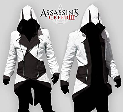 Assassin's Assassins Hoodie Capuche Iii 3 Creed Jacket Conner Veste 6w1HUwFq