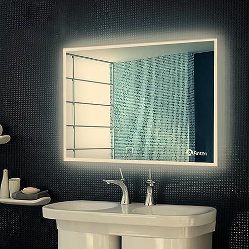 Anten Bad Spiegel für Schminktisch und Spiegelschrank Badspiegel ...