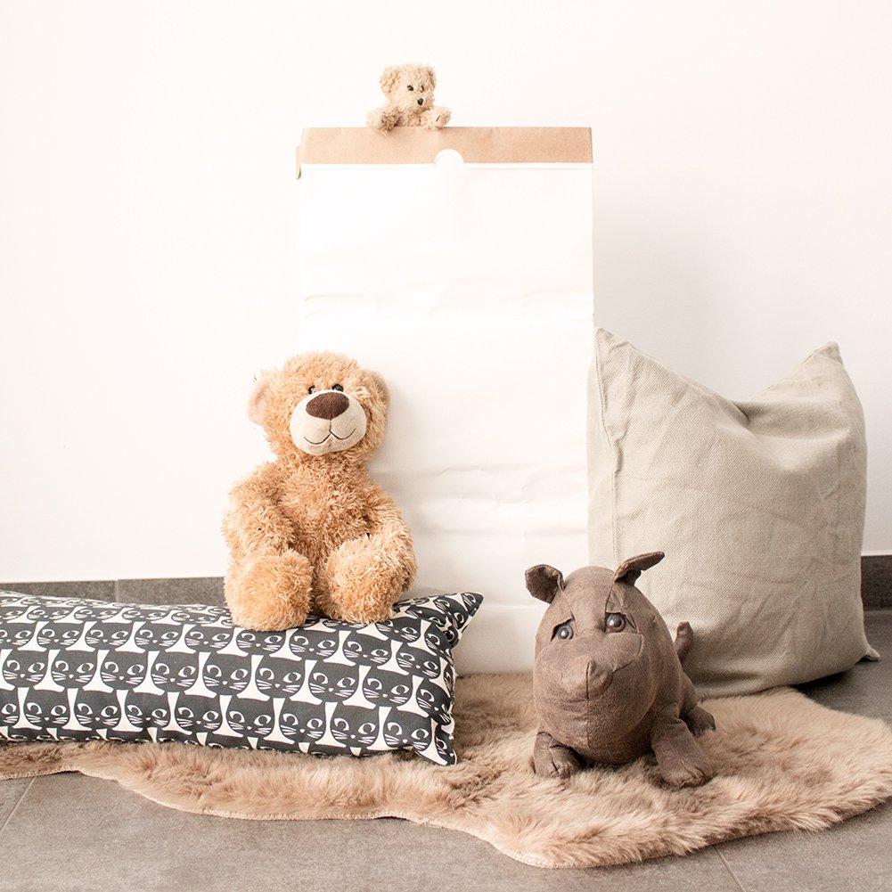 ropa y otros art/ículos Bolsas decorativas de papel para guardar juguetes