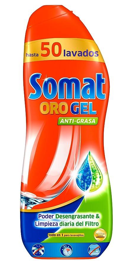 Somat Gel Antigrasa para Lavavajillas - 50 Dosis: Amazon.es ...