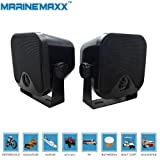 """Amazon Price History for:4"""" Heavy Duty Waterproof Boat Marine Box Outdoor Speakers Surface Mounted for Skid Steer ATV UTV RZR Golf Cart Tractor Powersports Boat Motorcycle"""