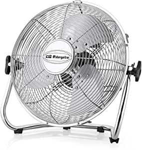 Orbegozo PW 1332 Ventilador Industrial Power Fan, 3 velocidadesaspas metálicas, inclinación Regulable, asa de Transporte, Rejilla de Seguridad, 45 W de Potencia, 50 W ...